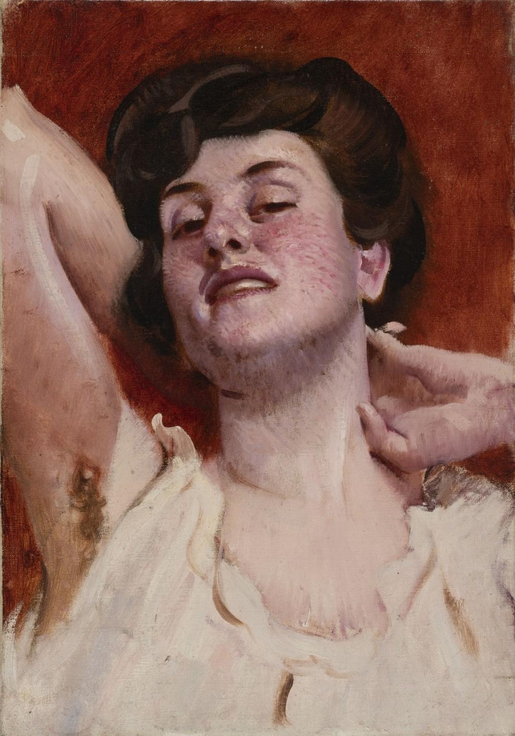 Prostituta romana - Adolf Hiremy Hirschl