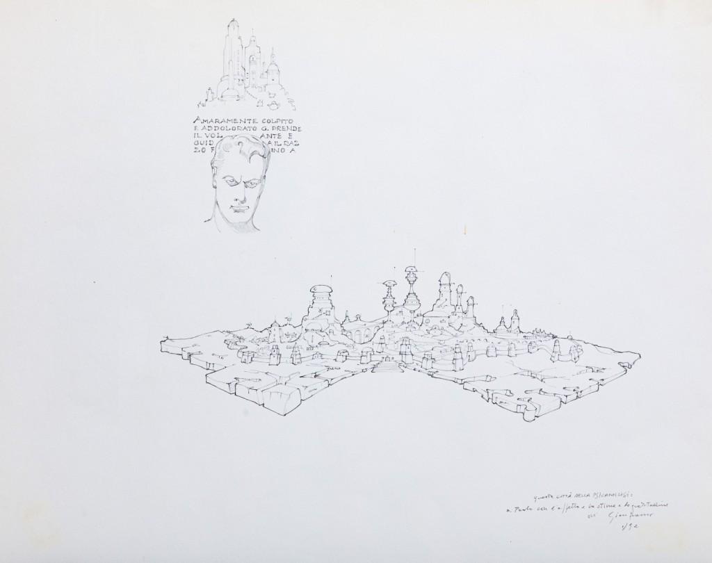La Città della Psicoanalisi - Gianfranco Baruchello